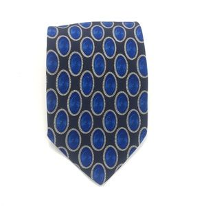Valentino Blue Patterned Tie